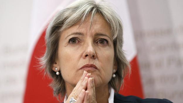 Noch ist die Nachfolge von Regierungsrätin Marianne Dürst offen.