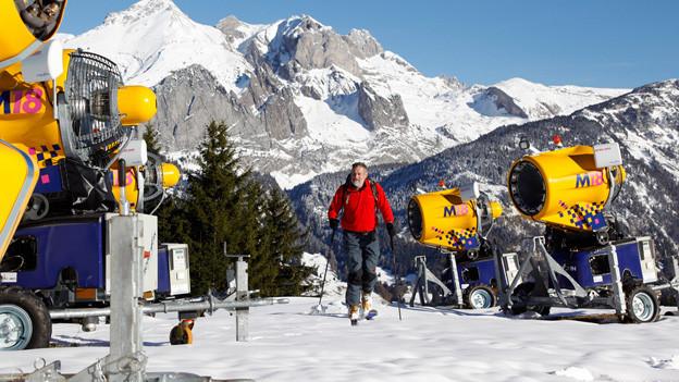 Das Toggenburg bewirbt sich um das Schneesportzentrum.