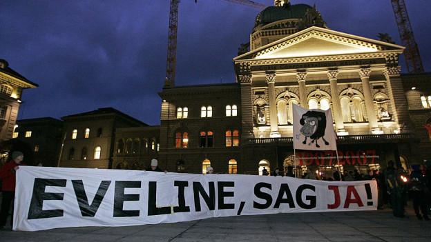 Eveline Widmer-Schlumpf sagte «Ja» und setzte damit den Grundstein zur BDP