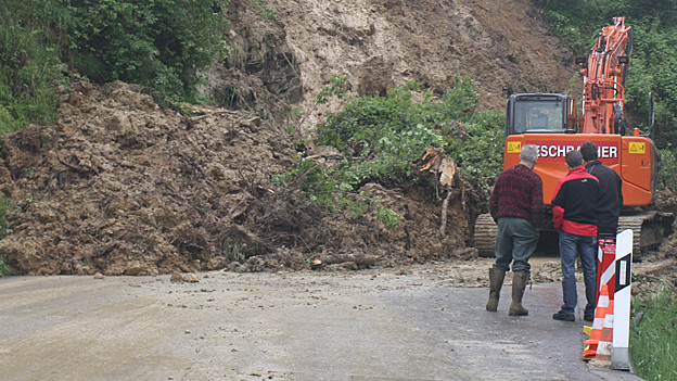 In Appenzell Ausserrhoden ist es im Juni zu Unwetterschäden gekommen.