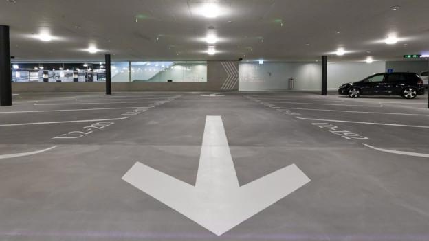 Wohin? Die Parkgarage-Projekte in der Stadt St. Gallen geben zu reden.