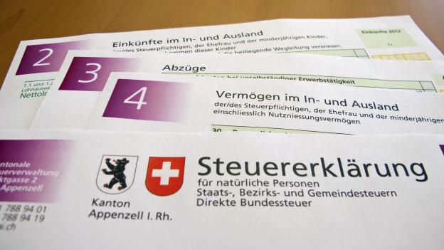 Unveränderte Zinssätze im Kanton Appenzell Innerrhoden.