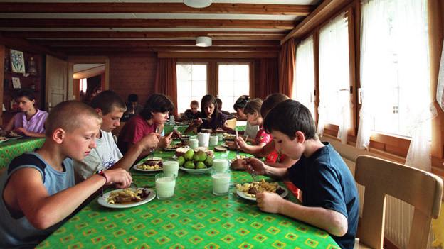 Das Kinderdorf beherbergt seit jeher Kinder aus Krisengebieten