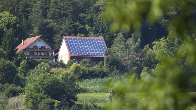 In Gossau verdienen Hausbesitzer mit ihren Solaranlagen Geld.