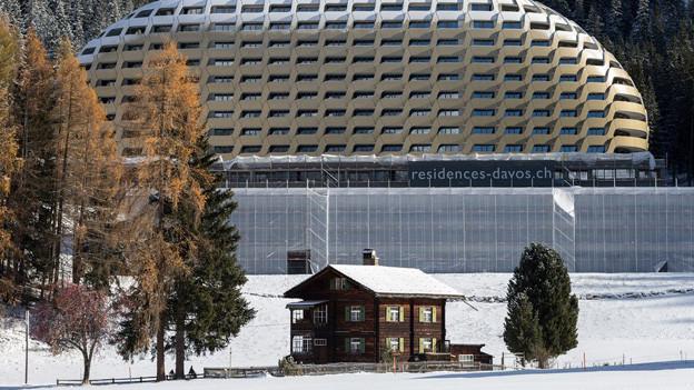 Das neue Luxushotel soll diesen Winter eröffnet werden.