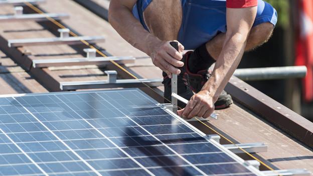 Auf zahlreichen Dächern von Landwirtschaftsbetrieben wurden in den letzten beiden Jahren Solarzellen installiert.