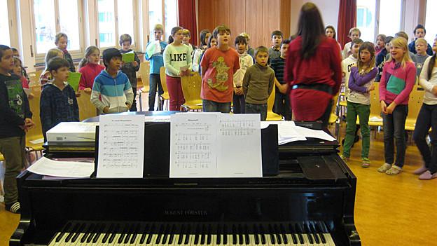 Auch regionale Weihnachtslieder gehören zum Schweizer Kulturgut.