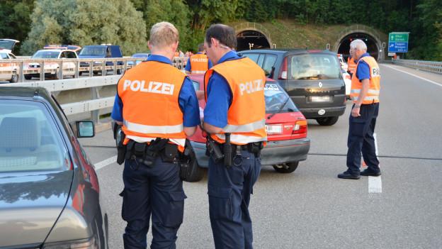 Die St.Galler Kantonspolizei soll aufgestockt werden.