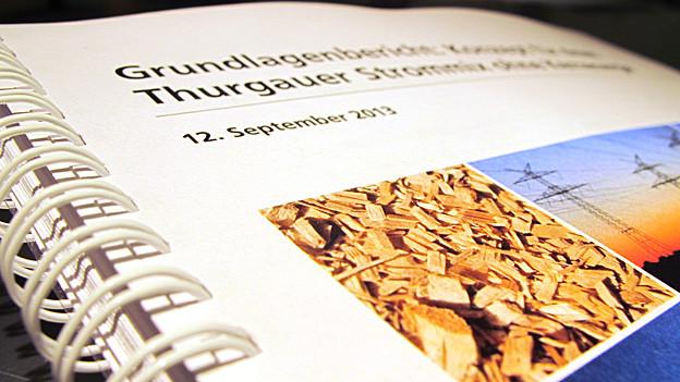 Der Grundlagenbericht umfasst über hundert Seiten.