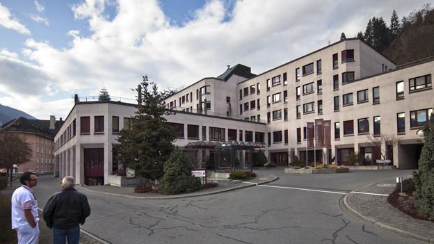 Regionale Versorgung (hier Spital Ilanz) soll beibehalten werden