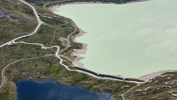 Am Lago Bianco gibt es kein Pumpspeicherwerk