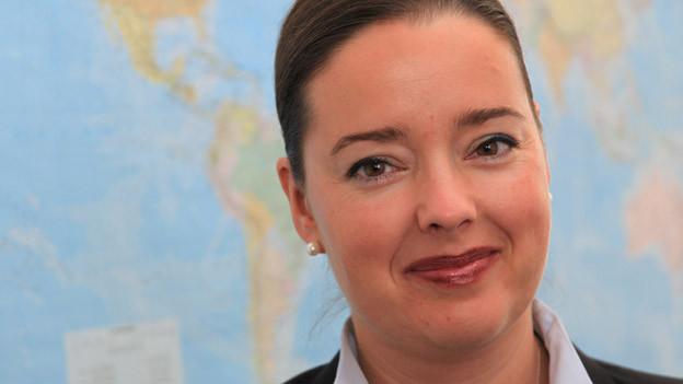 Carmen Haag tritt zur Wahl in die Thurgauer Regierung an.