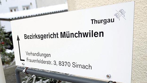Die vier jungen Männer mussten sich vor dem Bezirksgericht Müchwilen verantworten.