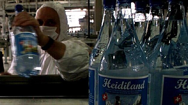 2009 drehte der russische Investor den Geldhahn der Heidiland Mineralwasser AG in Mels zu.