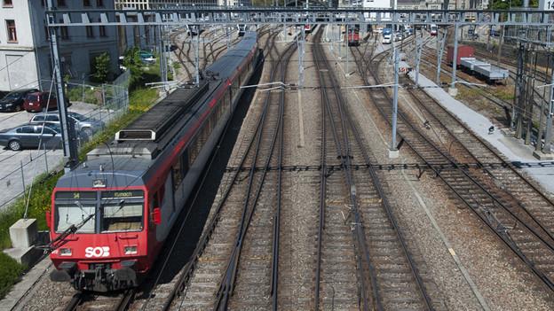 Am Bahnhof St. Gallen verkehren 30 Prozent mehr Züge.