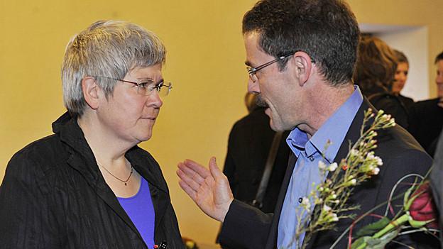 Sylvia Huber und Ruedo Blumer
