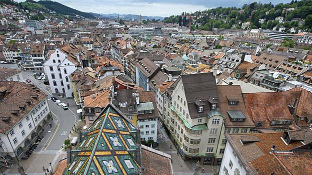 St. Gallen steht aus Spargründen bei den Investitionen auf die Bremse