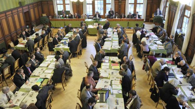 Einige waren sich die Grossrätinnen und Grossräte bei der Lohnerhöhung für das Staatspersonal.