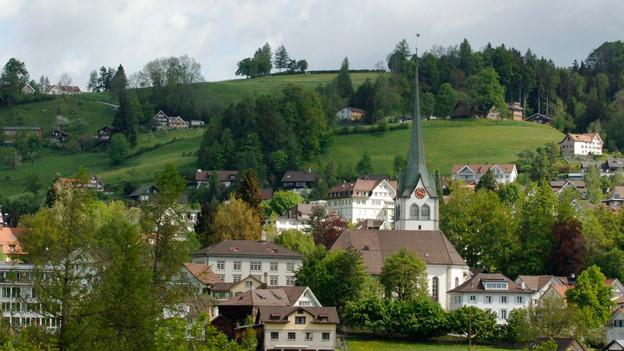 Im ganzen Kanton Appenzell Ausserrhoden ist rund ein Quadratkilometer  Bauland betroffen.