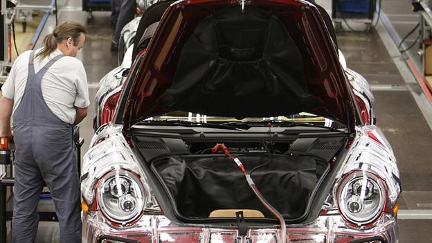 In Deutschland werden mehr Autos produziert - die Ostschweiz profitiert.