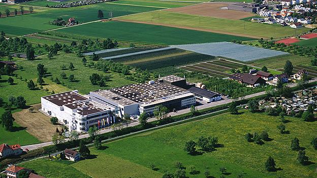 Produktionsgebäuder der STI-Group in Steinach.