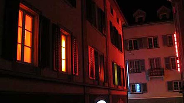 Unterwegs im Rotlicht Milieu in Chur.
