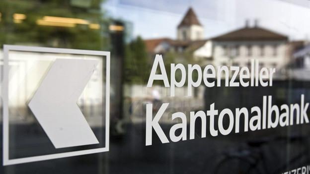 Die Appenzeller Kantonalbank konnte den Bruttogewinn leicht erhöhen.