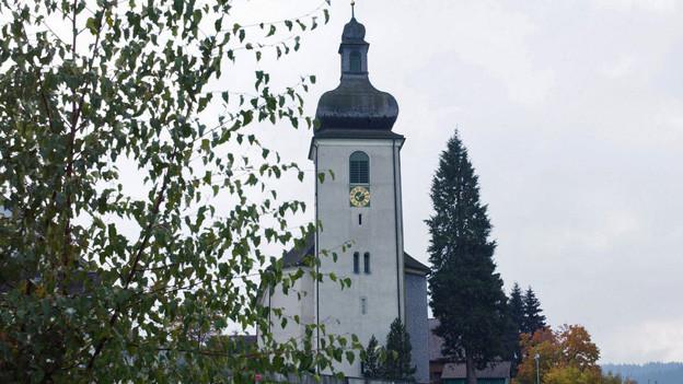 Die katholische Kirche in der Gemeinde Hemberg gehört vielleicht auch bald zur Gemeinde Neckertal.
