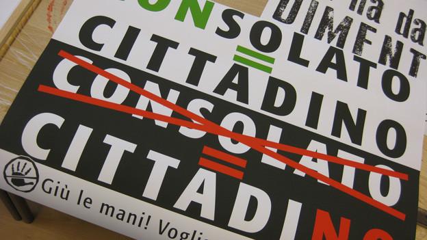 Die Italiener wollen nicht vertröstet werden.