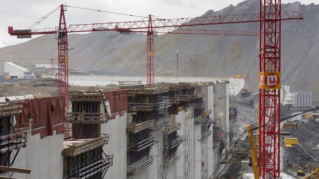 Das Kraftwerk Linth-Limmern.