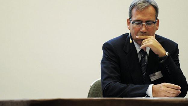 Daniel Frutig verlässt den Konzern per sofort.