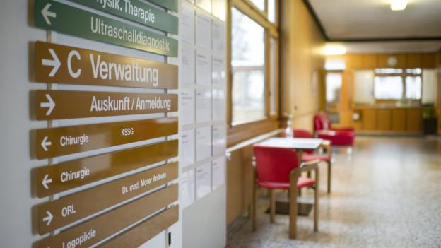Ein Einblick in den Spital Appenzell