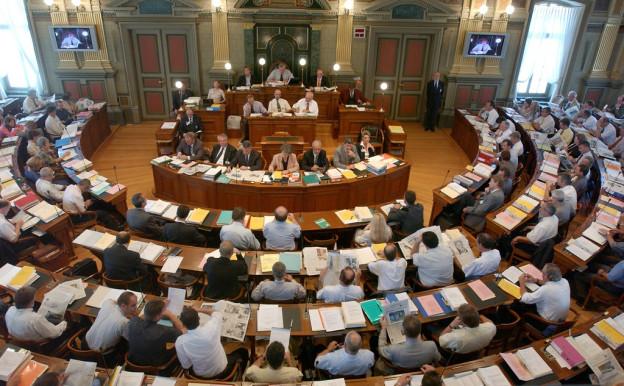 Der Grosse Rat des Kantons St. Gallen