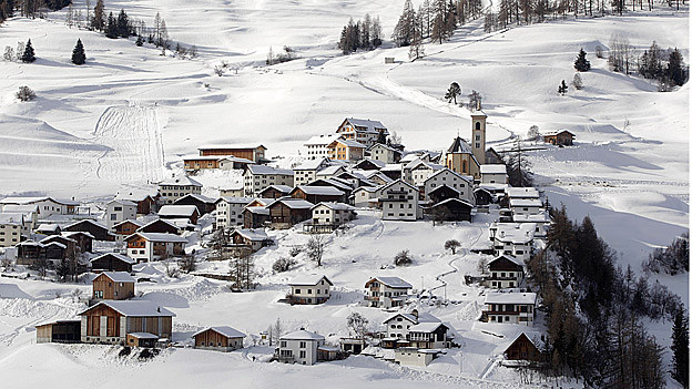 Die Gemeinde Stierva im Albulatal gehört neu zur fusionierten Gemeinde Albula/Alvra