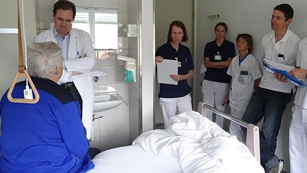 Spital Grabs bekommt Zertifikat für Stroke Unit