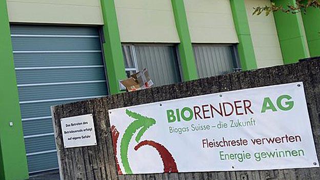 Biorender-Anlage ist versteigert worden