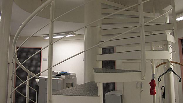 Die Platzverhältnisse sind eng im Gericht in Appenzell.