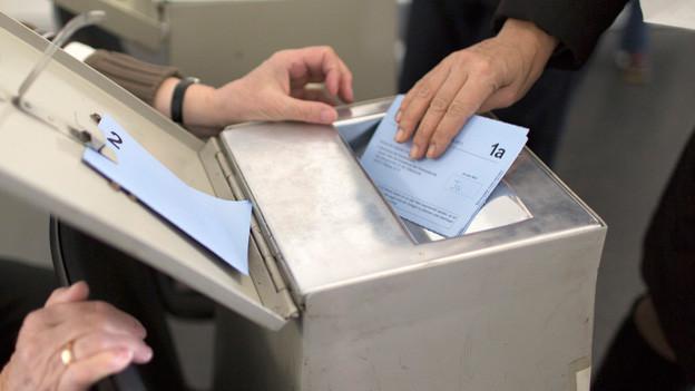 Wahlen im Appenzellerland