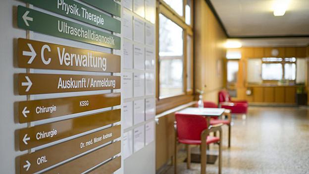 Das Spital Appenzell sucht sich seinen Weg.