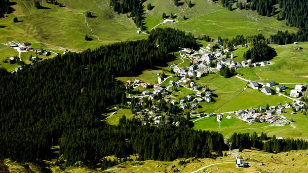 Seit 2010 ist Parpan ein Teil der fusionierten Gemeinde Churwalden
