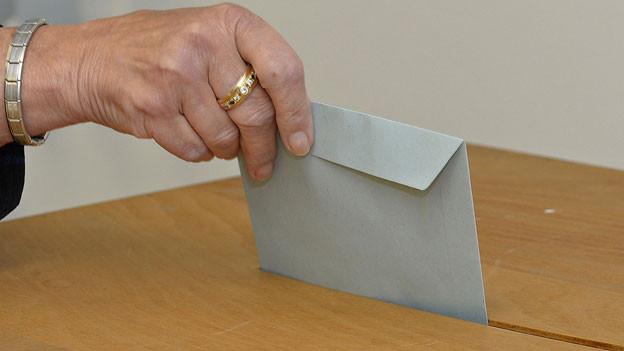 Die Stimmbevölkerung kann an der Urne zwischen sechs Kandidaten auswählen.