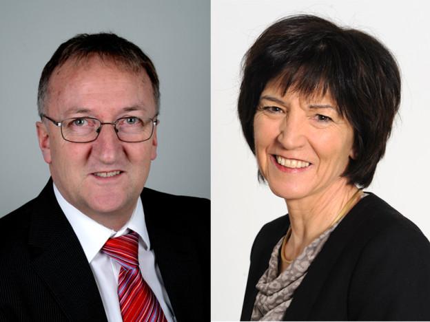 Christian Kasper (FDP) und Christina Bucher-Brini (SP)