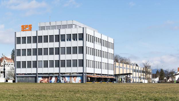Die Firma SFS in Heerbrugg.