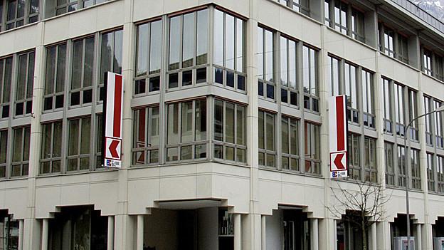 Gebäude der Glarner Kantonalbank