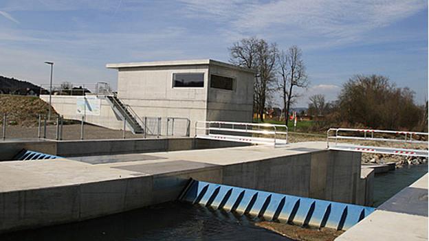Weitere Kraftwerke wie das Kraftwerk Schönenberg sind an der Thur geplant