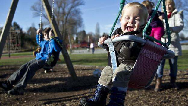 Kinderspielplätze sind in jedem Reka-Feriendorf zu finden.