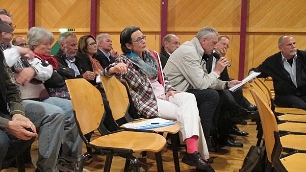 Rund 140 Arboner kamen in den Seeparksaal, um sich über die Resultate der Verkehrsmessungen informieren zu lassen