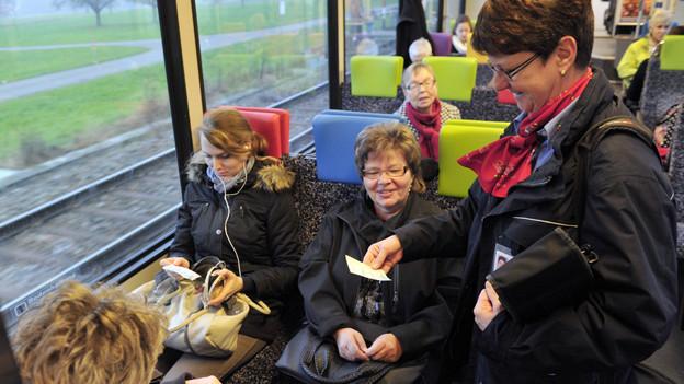 Bahnunternehmen in der Ostschweiz setzen auch künftig auf Sitzplätze.