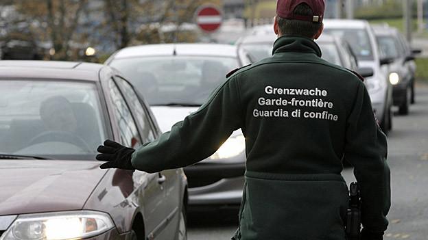 Unsichere Zeit für österreichische Zöllner in Lustenau.