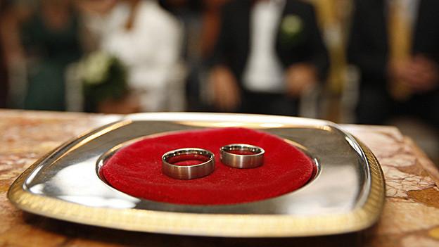 Für Hochzeiten im Thurgau gibt es weniger Traulokale.